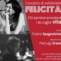 """""""Felicità"""", concerto di solidarietà con Tiziana Spagnoletta e Pierluigi Orsini"""