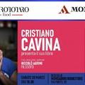 """Cristian Cavina presenta il suo libro """"Ottanta rose mezz'ora"""""""
