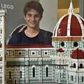 Giacinto Consiglio incanta Firenze con la cattedrale e la cupola di Brunelleschi in Lego