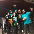 """I volontari di  """"No alcol ai minori """" presenti alla riapertura del DF a Bisceglie"""