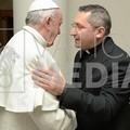 Emozionante incontro fra don Mauro Camero e papa Francesco