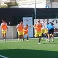 Don Uva al lavoro in vista dell'incontro di Coppa Italia
