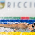 Elena Di Liddo impegnata a Napoli nel secondo round dell'International Swimming League