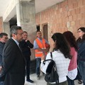 Sopralluogo del sindaco facente funzioni Fata sul cantiere di Salnitro
