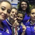 Laura Dell'Olio medaglia di bronzo ai campionati italiani di squadre regionali di karate