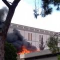 Ex Cdp, domato l'incendio