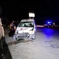 """Incidente sulla Bisceglie-Andria, danni al furgone di  """"Recuperiamoci """""""