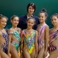 Le ginnaste dell'Iris al raduno collegiale di Binetto