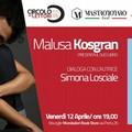 """Malusa Kosgran presenta il libro """"In attesa degli altri trasmettiamo musica da ballo"""""""