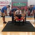 Maurizio Caccialupi migliora il suo primato personale nel bench press