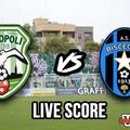 Monopoli-Bisceglie 2-1, il live score