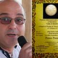 """Il poeta Natale Buonarota insignito della medaglia  """"al merito artistico """" del Senato della Repubblica"""