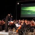 """""""Notte da oscar """" con l'orchestra giovanile della Fondazione  """"Biagio Abbate """" per la riapertura al pubblico della piazzetta di Pendio San Matteo"""