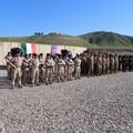 """I fanti dell'82° Reggimento  """"Torino """" lasciano la diga di Mosul per fare ritorno a Barletta"""