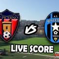 Picerno-Bisceglie 0-0, il live score