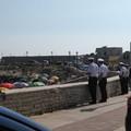Controlli antibivacco della Polizia Locale sulle spiagge biscegliesi