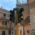 Semaforo non funzionante in via Piave