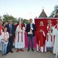 Spina primo sindaco nella storia a condurre personalmente le reliquie di San Mauro