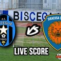 Bisceglie-Siracusa 0-0, il live score