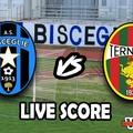 Bisceglie-Ternana 0-1, il live score