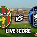 Ternana-Bisceglie 2-2, il live score