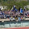 Tifosi del Bisceglie bloccati allo Stadio San Francesco dopo il triplice fischio
