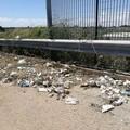 """""""Ponte dei baci """" di Via Macchione, ancora sfalci e rifiuti"""