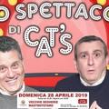 Uno spettacolo di Cat's con Pino Tatoli e Carlo Monopoli