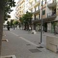 Giovani biscegliesi in prima linea per il rispetto dell'area pedonale di via Aldo Moro