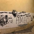 Vandalismo insensato nelle vicinanze della chiesa di Sant'Agostino