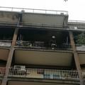 Appartamento in fiamme in corso XXIV maggio