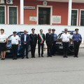 Omaggio della Polizia Locale di Bisceglie al Vice Brigadiere Mario Rega Cerciello