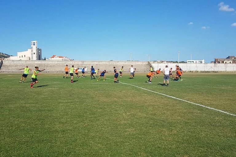 Bisceglie calcio in ritiro a San Giovanni Rotondo