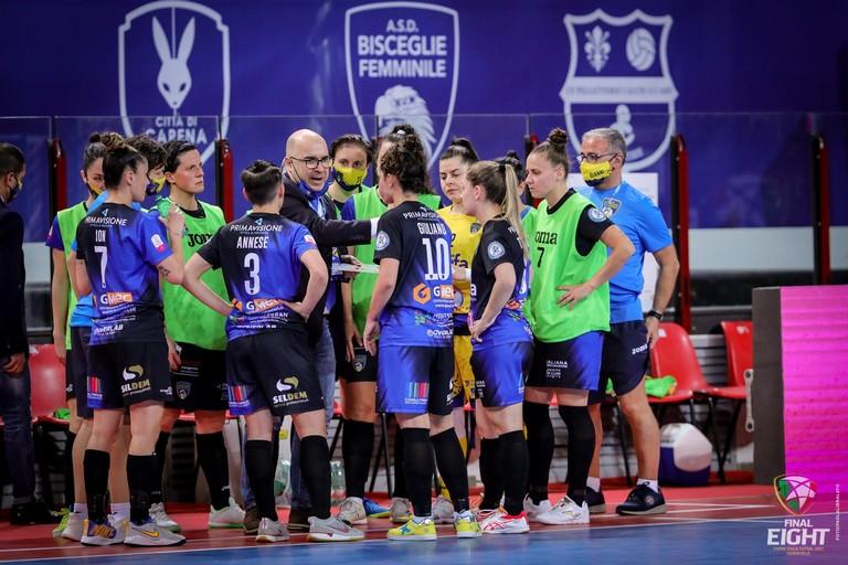 Bisceglie Femminile. <span>Foto Paola Libralato (Divisione calcio a 5)</span>