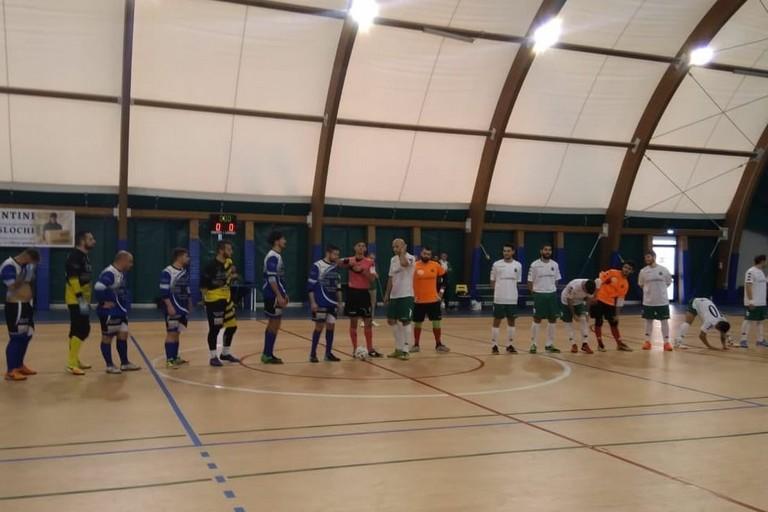 Bitonto Futsal Club-Futbol Cinco Bisceglie. <span>Foto Nico Colangelo</span>
