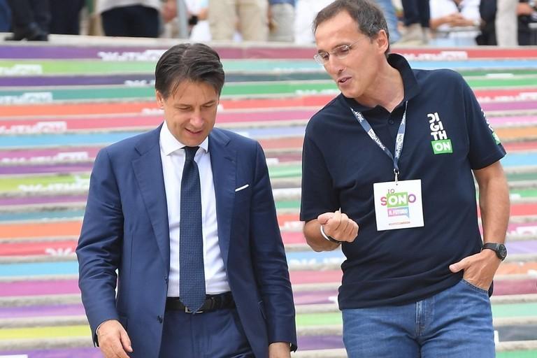 Giuseppe Conte e Francesco Boccia a DigithON