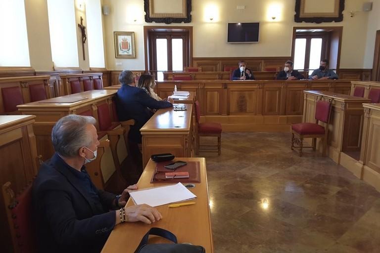 Incontro a Palazzo San Domenico tra rappresentanti istituzionali e dei sindacati