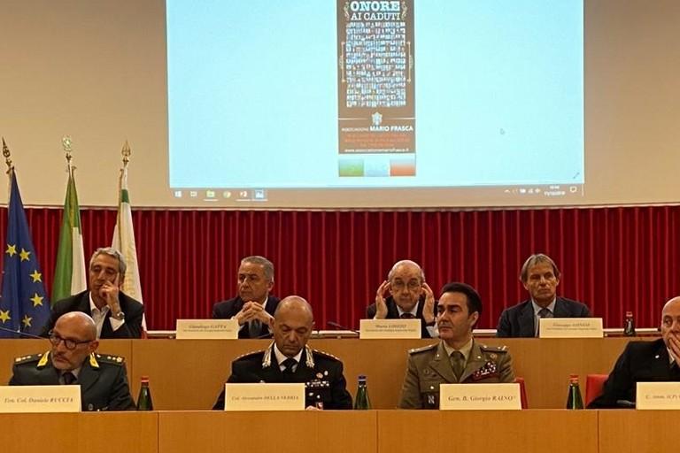 Cerimonia in ricordo dei pugliesi caduti nelle missioni internazionali di pace