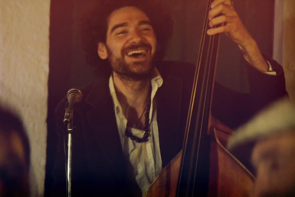 Il talentuoso contrabbassista Camillo Pace in concerto all'Arci Open Source