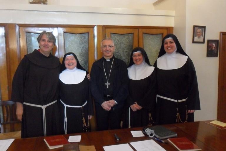 Capitolo elettivo al monastero di San Luigi
