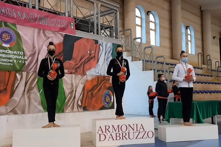 Irene Carbonara e Maria Dellaquila sui primi due gradini del podio