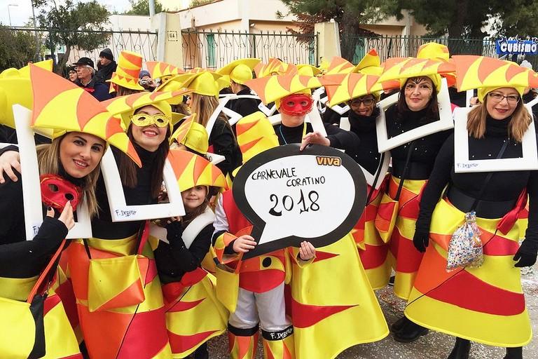 Carnevale Coratino 2018 sul Viva Network
