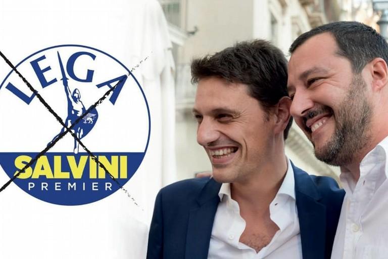 Matteo Salvini e Andrea Caroppo