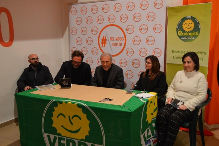 I Verdi sostengono la candidatura a sindaco di Gianni Casella