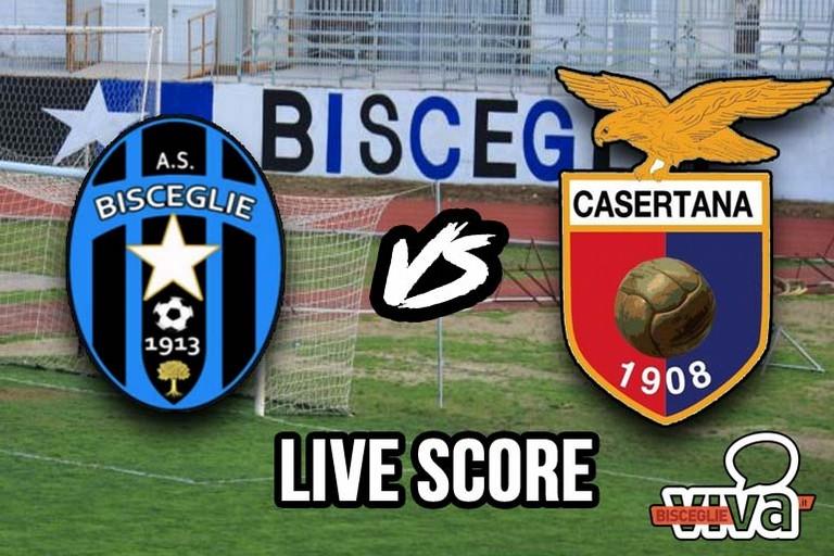 Bisceglie-Casertana 0-1, il live score
