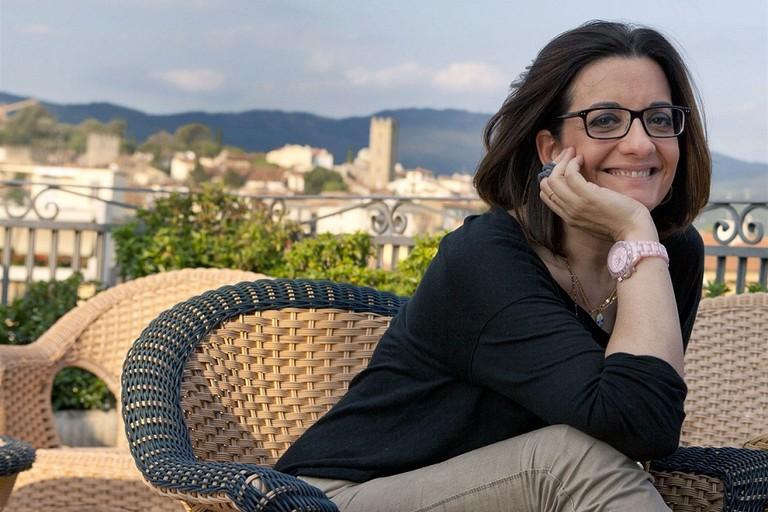 Catena Fiorello al Mondadori Bookstore delle Vecchie Segherie Mastrototaro