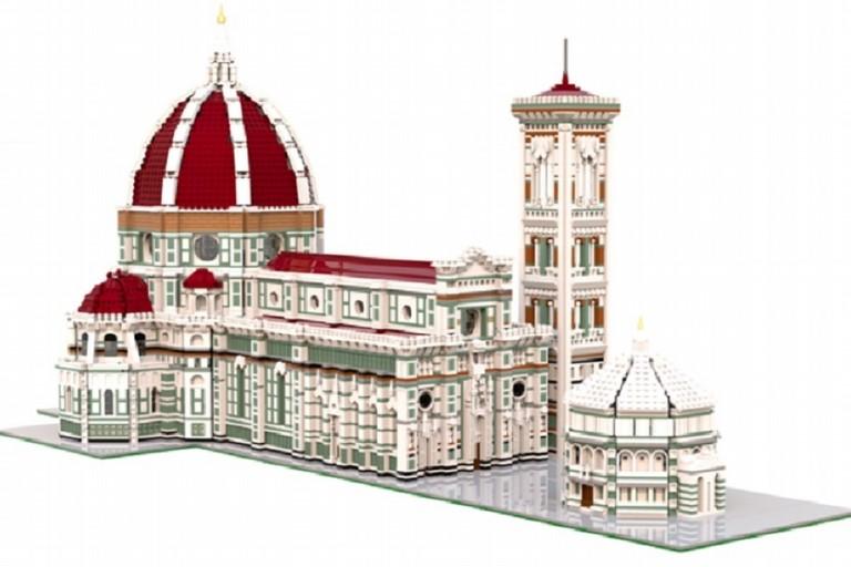 Liceale biscegliese progetta e ricostruisce la Cattedrale di Firenze interamente in Lego