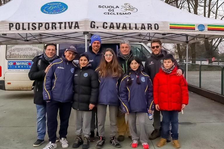 Il team Cavallaro ai campionati italiani di ciclocross