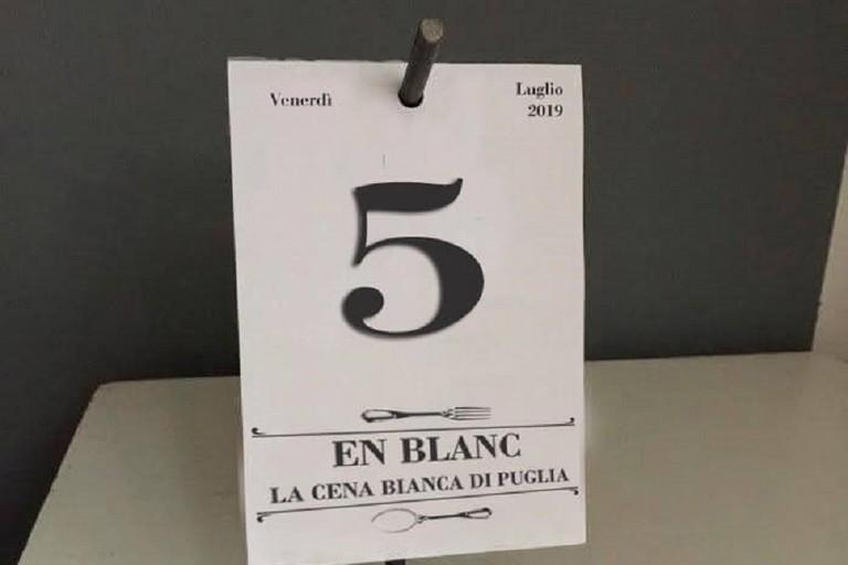 Cena en blanc venerdì 5 luglio: ecco come partecipare