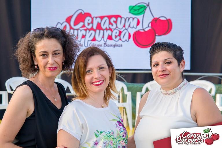 Margherita Graziani, Betty Dell'Olio e Rosalia Gentile della cooperativa Apulia Project
